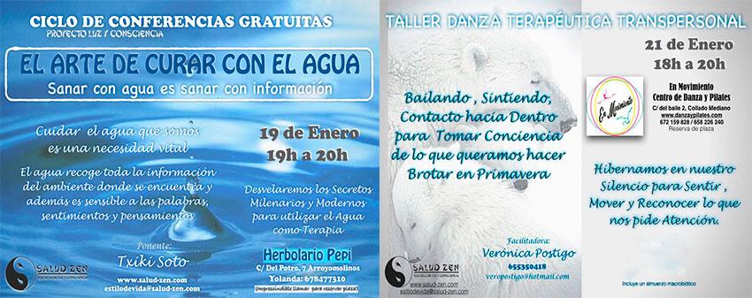 Eventos - Conferencia Gratuita y Taller de Danza