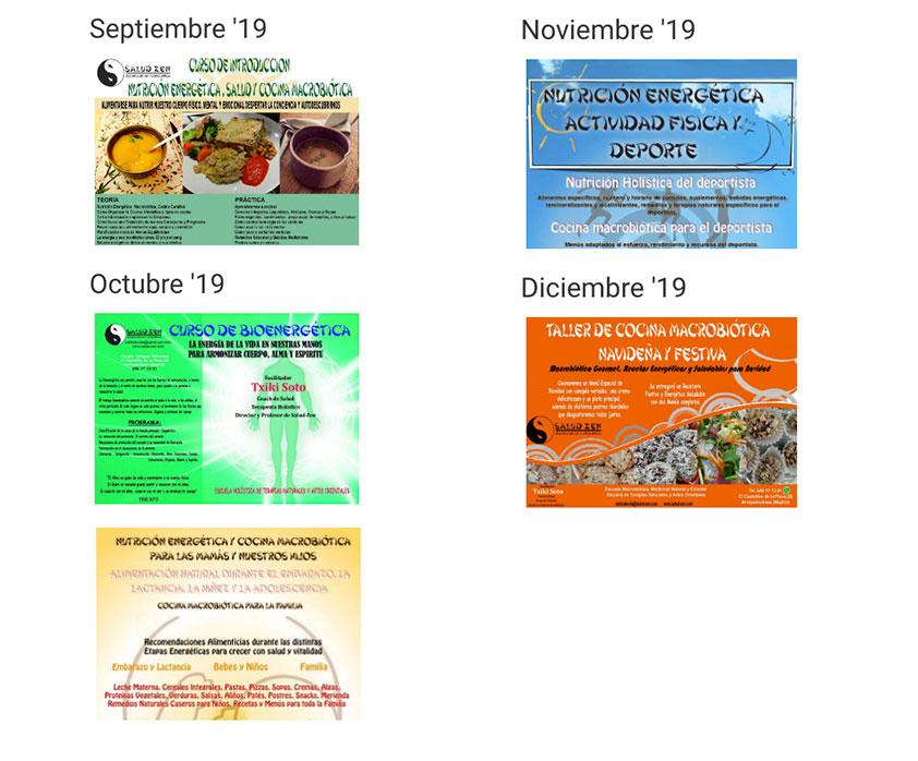 ¡Publicación del Calendario con nuevas actividades!