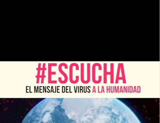 Reflexiones - Mensaje del virus a la humanidad