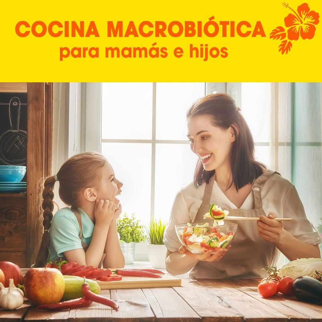 Curso- COCINA MACROBIOTICA PARA LA FAMILIA