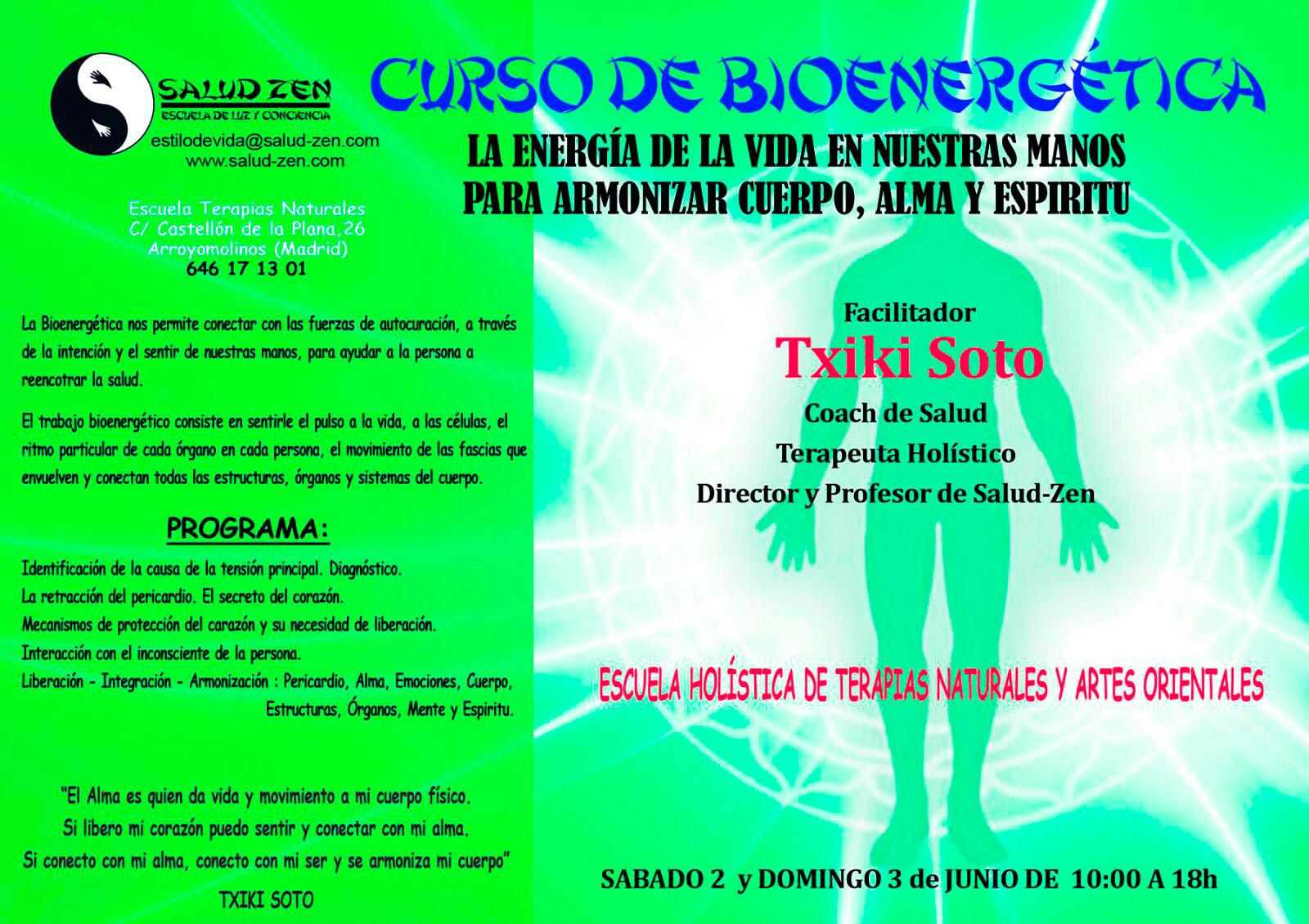 Cursos - Bioenergética