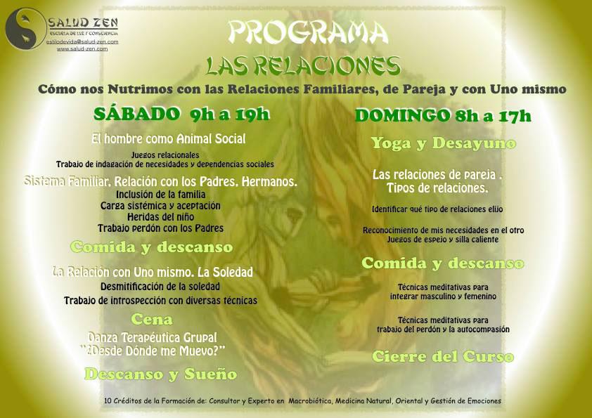 Cursos - Publicado el Programa del Próximo Curso de las Relaciones