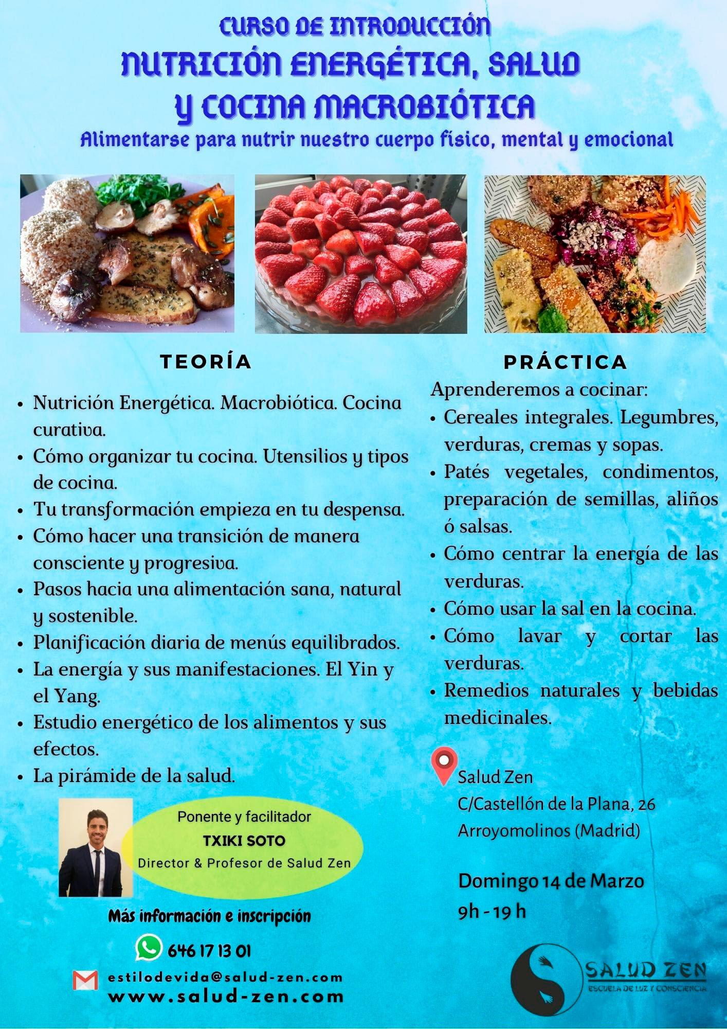 Estilo de vida saludable a través de la alimentación: Curso - Introducción