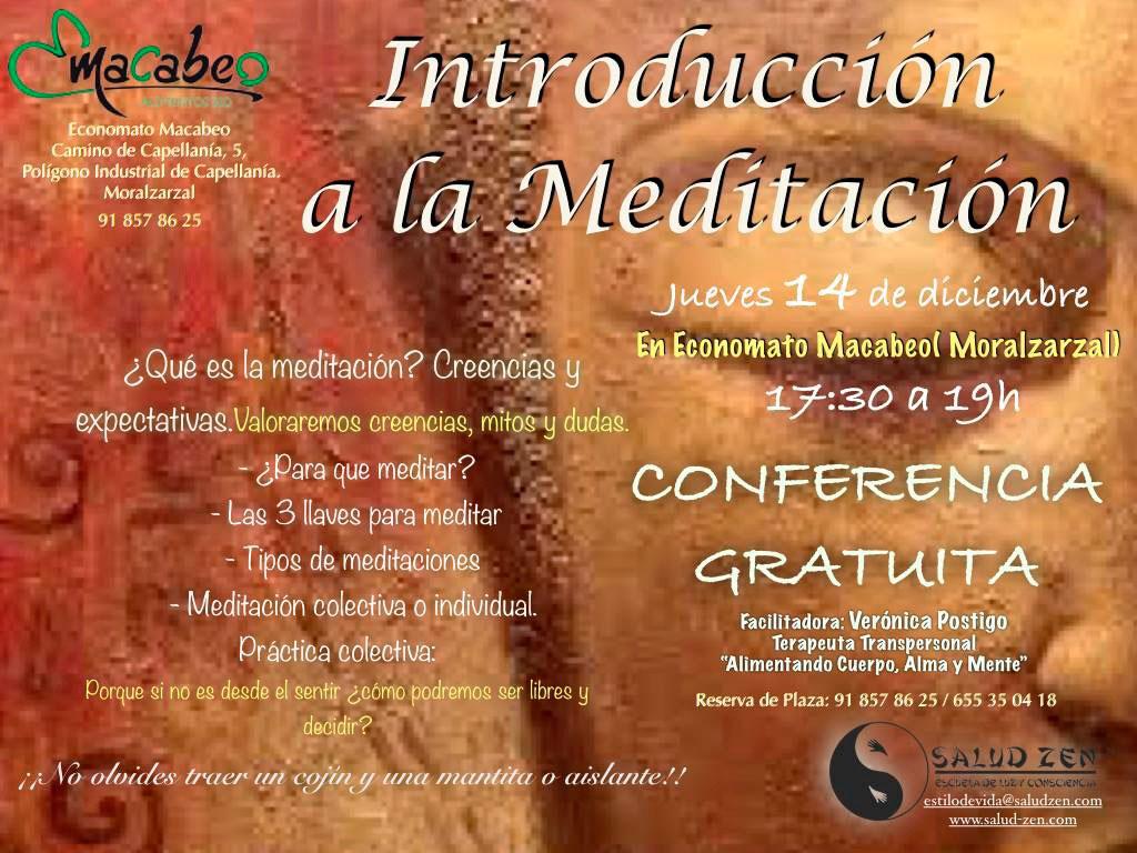 Conferencia - Introducción a la Meditación!!