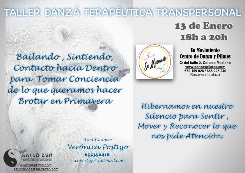 Taller - Danza Terapéutica Transpersonal