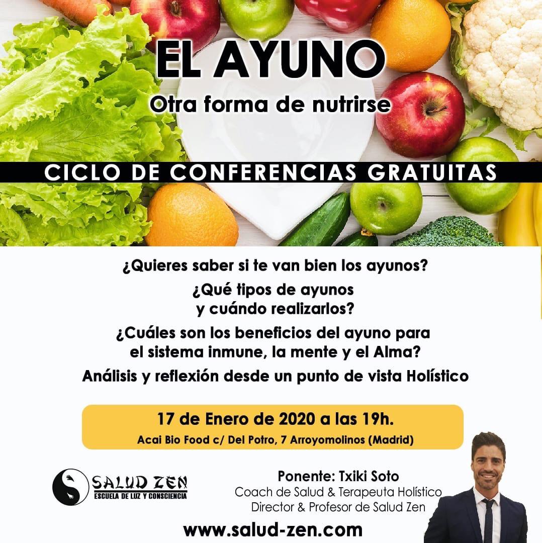 Conferencia-El Ayuno, otra forma de nutrirse