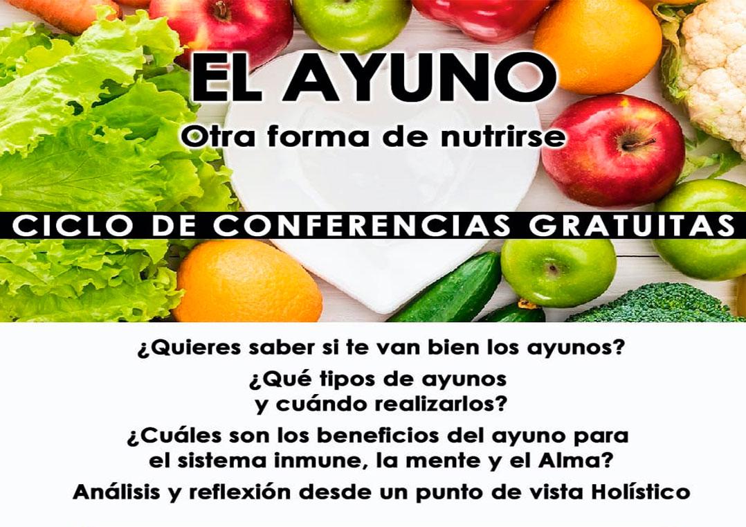 Conferencia- EL AYUNO, otra forma de nutrirse