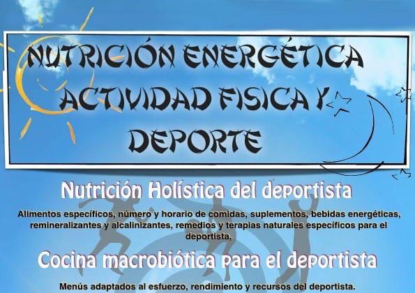 Curso de Nutrición Energética, Actividad Física y Deporte