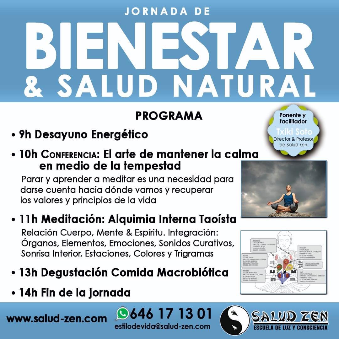 Curso - Jornada Bienestar & Salud Natural
