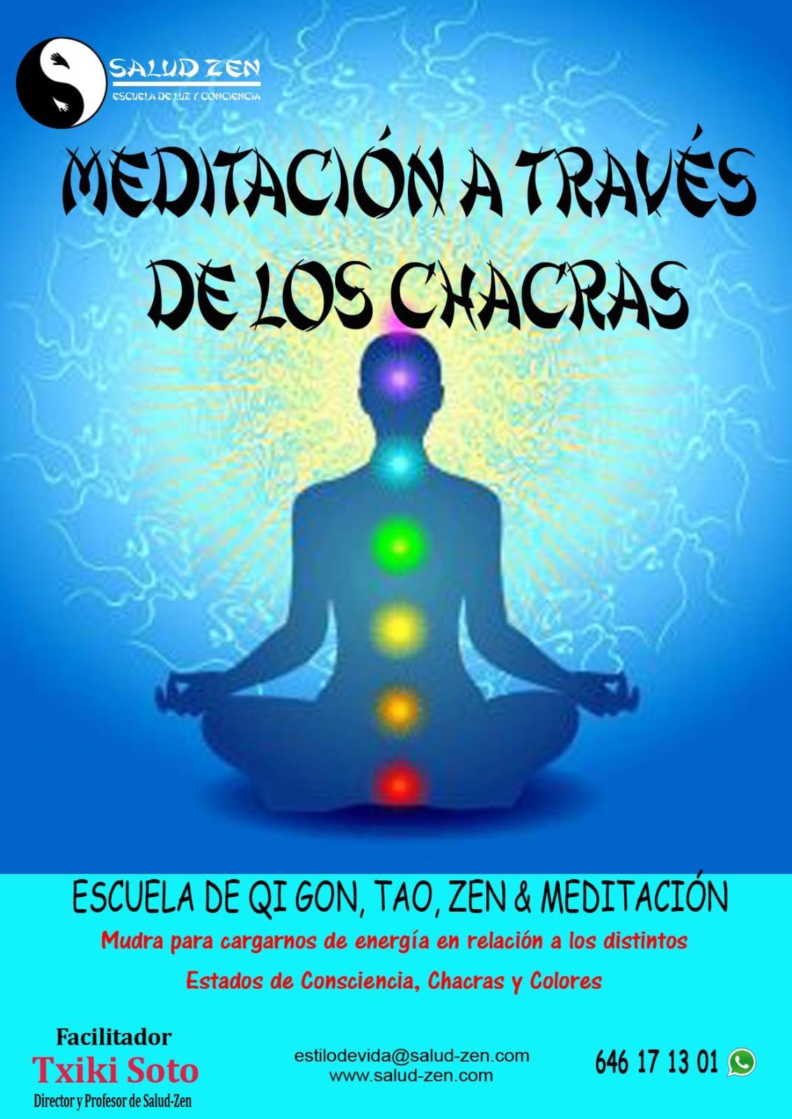 Meditación a través de los Chacras