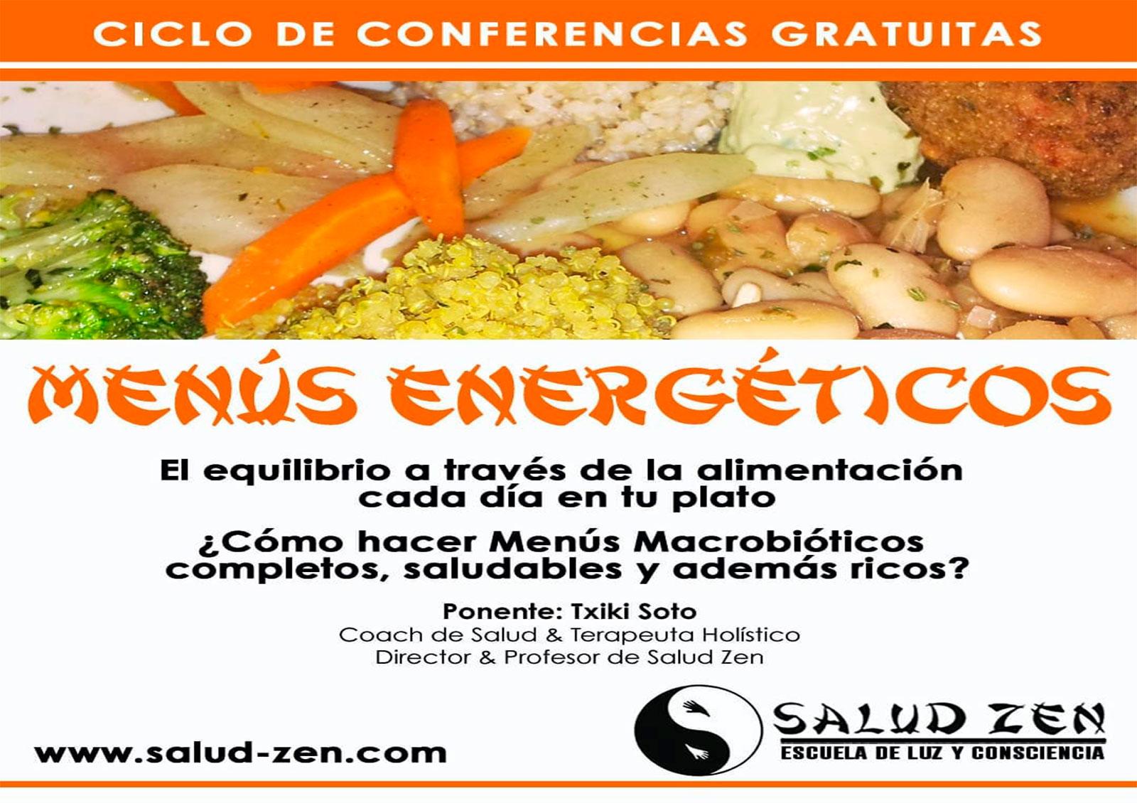 Conferencia-Menús Energéticos