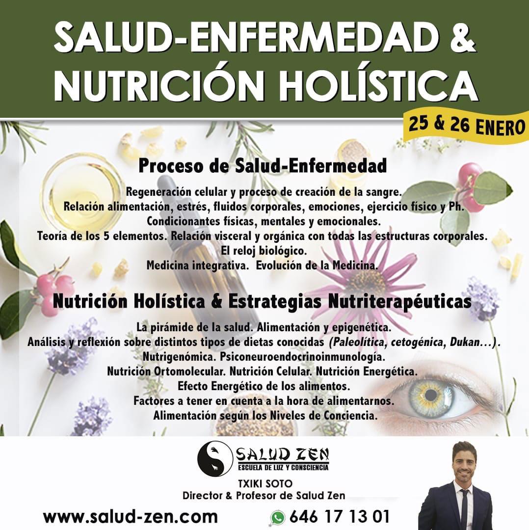 Curso- SALUD-ENFERMEDAD & NUTRICIÓN HOLISTICA