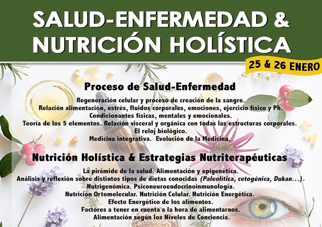 Curso de Salud-Enfermedad & Nutrición Holística