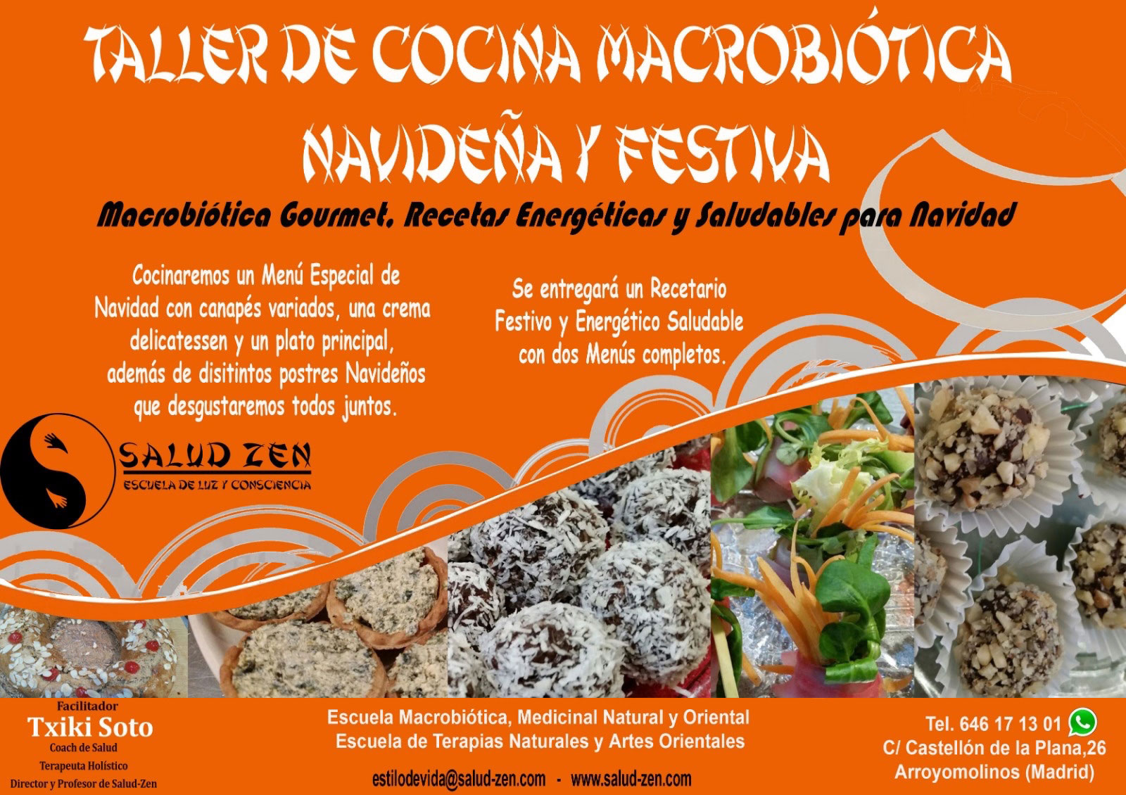 Taller de Cocina Macrobiótica Navideña y Festiva
