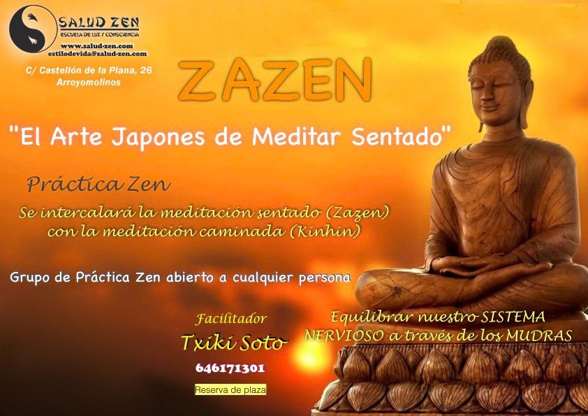 Taller - ZAZEN. EL ARTE DE MEDITAR SENTADO