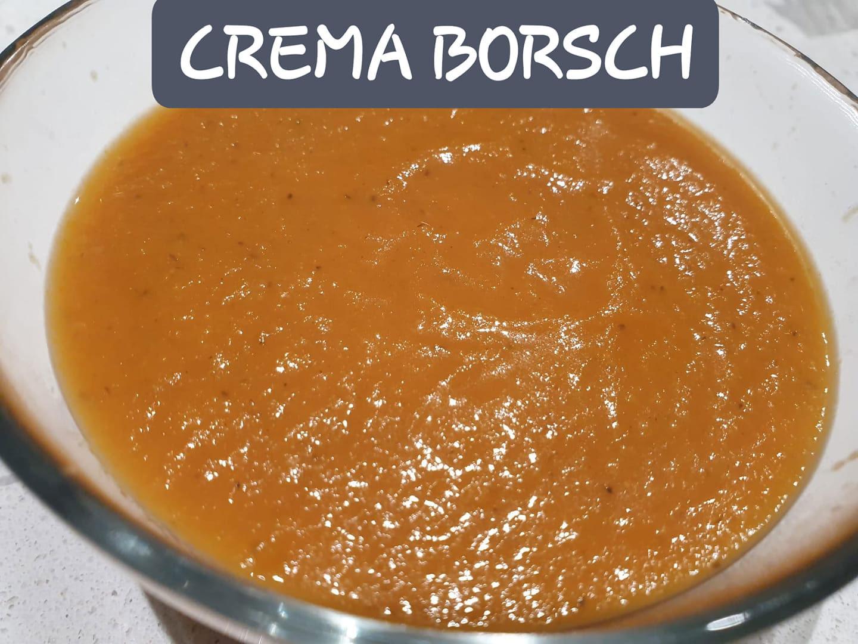 Receta - Crema Borsch