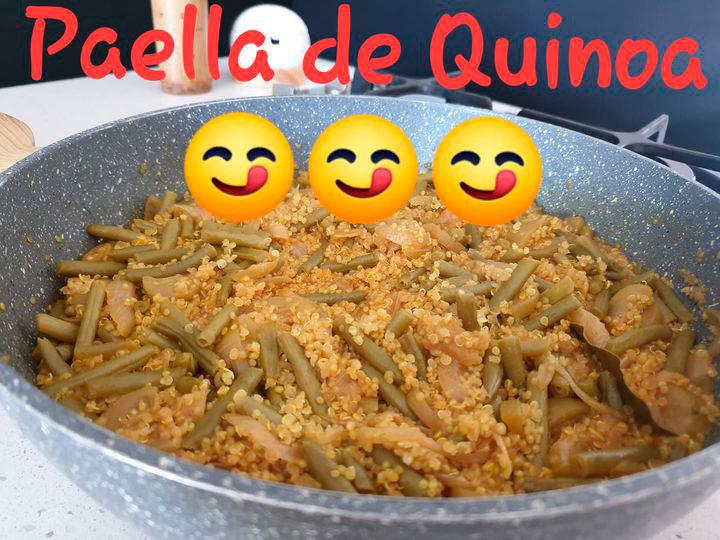Receta-Paella Quinoa
